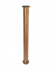 "Царга медная -диаметр трубы 54мм,длина 500 мм  (кламп 2"")"