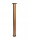 "Царга медная -диаметр трубы 42 мм,длина 500 мм (кламп 1.5"")"