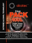 Спиртовые дрожжи Alcotec MegaPack 100L Turbo, 360 г