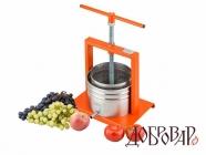 Пресс фруктово-ягодный настольный 5 л