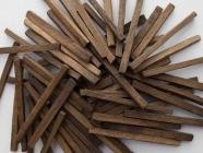 Щепа дубовая (средний обжиг) (фракция прямоугольной формы) 100 грамм