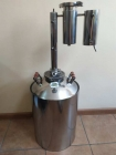 Дистиллятор Классик  с дефлегматором 20,30 литров