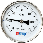 Термометр биметалический (0-120°С)