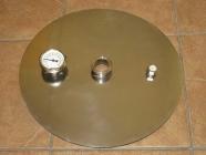 Крышка  для куба  Люкстайл. 20,25,37, 50 литров с  клампом 1.5 или 2  дюйма(толщина 3 мм)